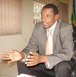Ingabire is under trial for crimes she committed:Maj. Gen. Frank Mugambage Frank-Mugambage