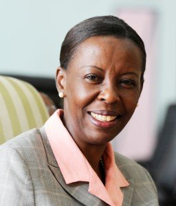 Press Conference: The situation in the eastern part of the Democratic Republic of the Congo (DRC). Louise-Mushikiwabo-256x300