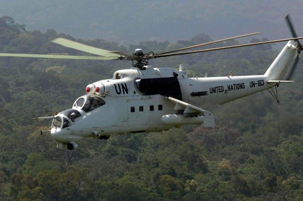 M23 rebels threaten to treat MONUSCO as hostile forces Ukraine-UN-helicopter-1024x6791