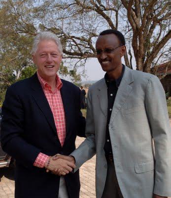 Bill Clinton aje gutaha ibitaro cyangwa azanywe n'ikibazo cya Congo? clinton-kagame